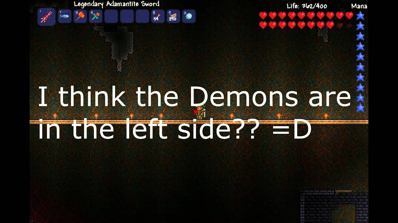 Terraria - Tutorial to get the Guide Voodoo Doll And Spawn The Wall of Flesh