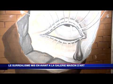 Surréalistes tableaux à la Galerie Maison d'Art de Monaco