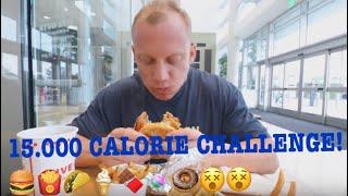 15.000 CALORIE CHALLENGE I USA!