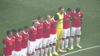 Feyenoordfans verstoren 1 minuut stilte