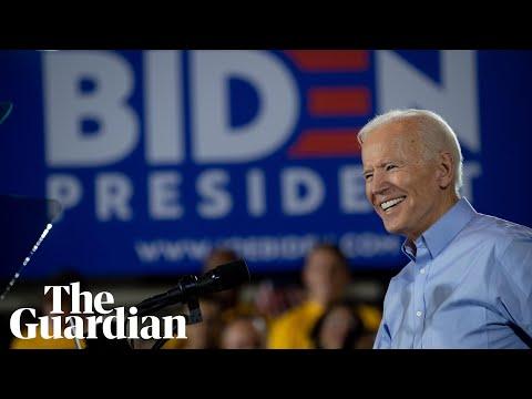 Joe Biden attacks Donald Trump in first campaign speech: 'Truth over lies'