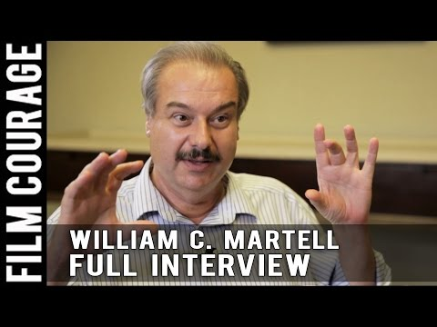 A Screenwriting Dialogue Master Class & More - Full Interview with William C. Martell