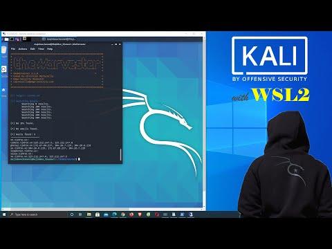 hướng dẫn sử dụng kali linux hack wifi - Cài đặt KALI Linux trên Windows 10 | WSL2