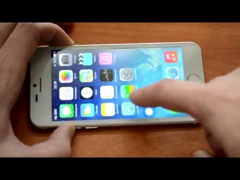 Распаковка: копия китайский iPhone 6 на Android золотой GooPhone i6