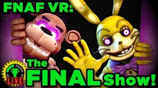 FNAF VR - The End of FNAF! | Five Nights At Freddy's VR: Help Wanted (Ending)