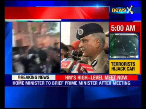 Terrorist attack in Punjab: High level meet in Delhi including Defence Minister and NSA