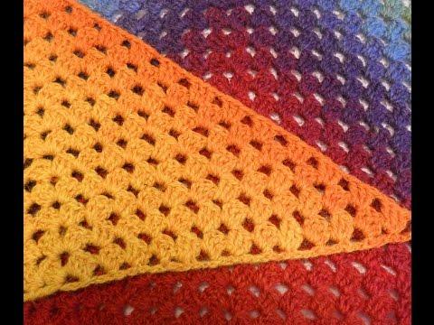 Шаль крючком. Простой узор. МК. Shawl crochet
