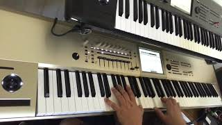 One Vision Queen Synth Keyboard Cover Sounds Korg Kronos