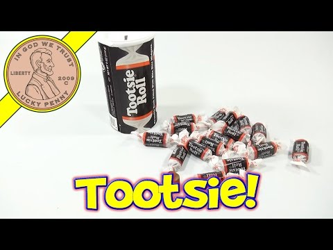 Tootsie Roll Re-usable Bank With Bite Size Midgee Candies
