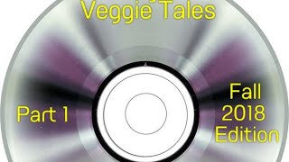 My Veggie Tales DVD Collection (Fall 2018 Edition) Part One
