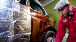 Old Fiat 500 Rust Removal With Molasses and Cider Vinegar