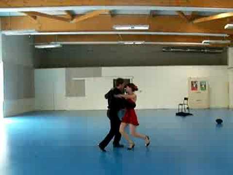 chorégraphie de tango juin 2008