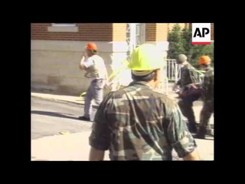 USA: REACTION TO THE ARREST OF TIMOTHY MCVEIGH