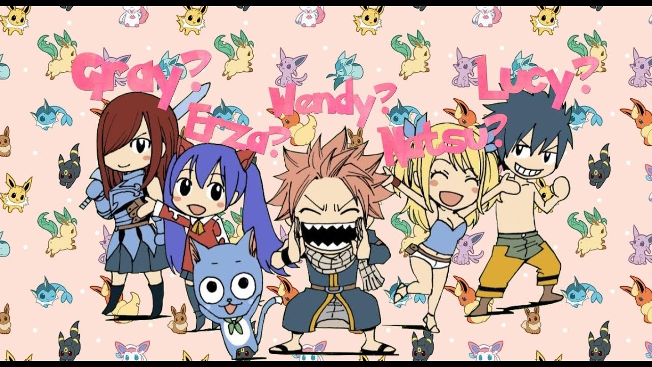 Name All Fairy Tail Characters I M Above Average Youtube