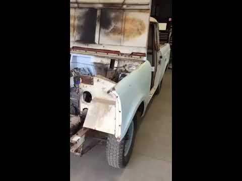 1962 Scout clutch linkage, Hilltech Production