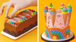 So Lovely Colorful Cakes For Your Summer  Colorful Cake Decorating Ideas