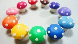 How to make polymer clay mushroom - EP