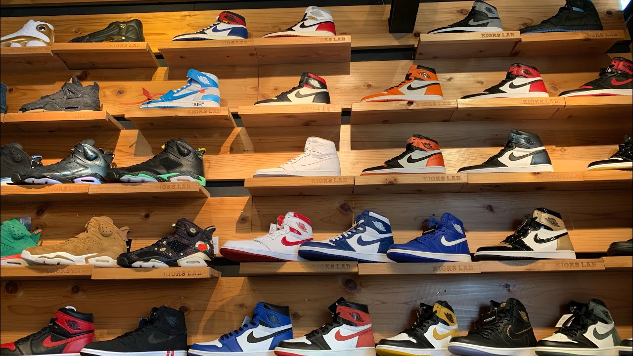 HARAJUKU SNEAKER SHOPPING GUIDE (BEST SNEAKER SHOPPING IN TOKYO, JAPAN)