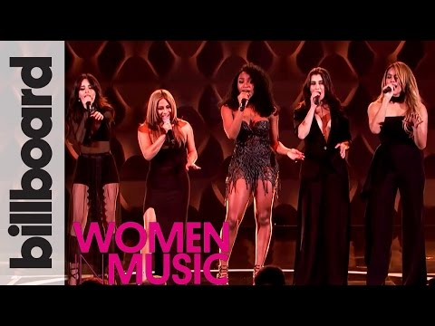 Fifth Harmony Cover 'Like I'm Gonna Lose You' Live Performance | Billboard Women In Music 2016