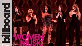 Fifth Harmony Cover \'Like I\'m Gonna Lose You\' Live Performance | Billboard Women in Music 2016
