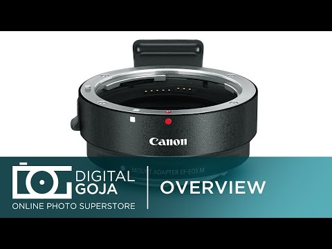 Canon M5 Lens Adapter: Canon EF-M Lens Adapter Kit for Canon EF/EF-S Lenses | EF/EF-S Lens to EOS-M