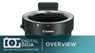 Об'єктив Canon М5 адаптер: об'єктива Canon EF-M об'єктив адаптер комплект для Canon EF/EF-s об'єктиви | EF/EF-s об'єктив до EOS-м