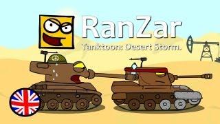 Tanktoon: Desert Storm. RanZar.