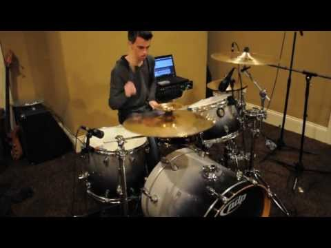 Jackson Ward - The Fall of Troy - Panic Attack (drum cover)