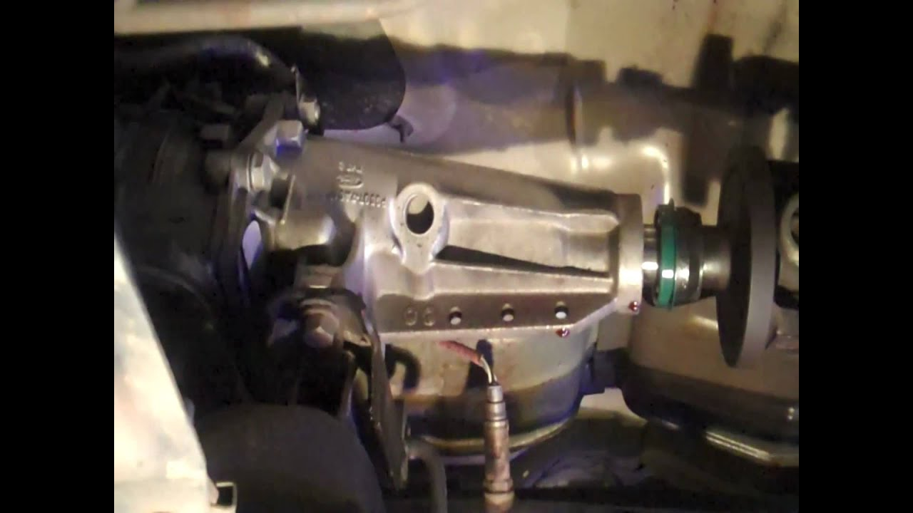 Transmission Tailshaft Seal Replacement Diy Youtube