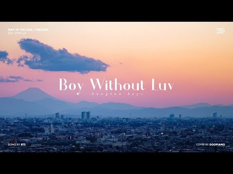 BTS - Boy Without Luv (Boy With Luv Sad Ver.) Piano Cover