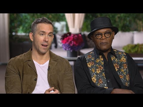 Ryan Reynolds calls his new film with Samuel L. Jackson a 'buddy action-mance'