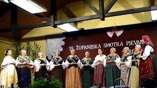 19. Županijska smotra folklornog pjevanja - Strizivojna 2016