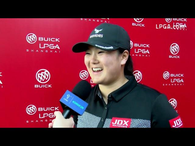 Angel Yin Talks First Round of the 2019 Buick LPGA Shanghai
