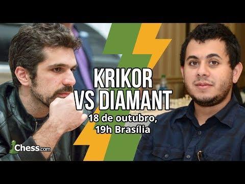 Match GM Krikor x GM Diamant! 3 0 - 12 partidas
