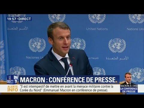 "Macron: ""Les médias français s"