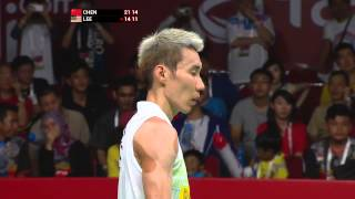 TOTAL BWF World Championships 2015 | Badminton Day 7 F M3-MS | Chen vs Lee