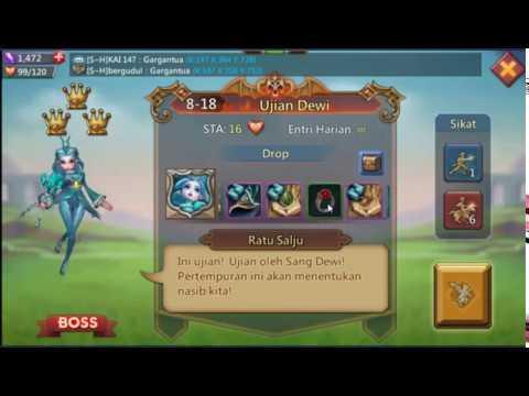 Kombinasi Hero Tahap Elite 8-18 Lords Mobile