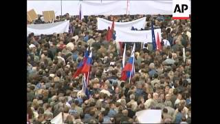 WRAP Tens of thousands attend  anti-terror demo