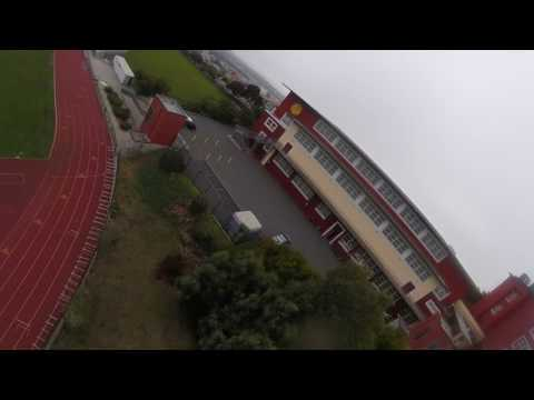 Drones in San Francisco (37) 6S FPV racing drone Lincoln High School