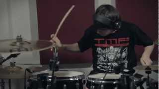 Marcos Martínez - Dawn Of The Maya - Purified In Blood [Drum Play Through at TMF Studios]