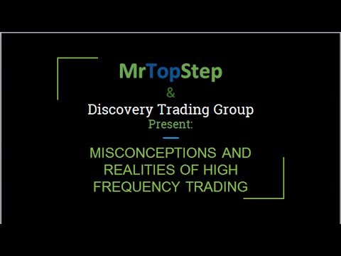 [WEBINAR] Misconceptions and Realities of High-Frequency Trading