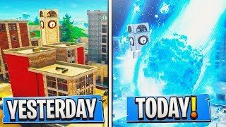 TILTED TOWERS Gets *DESTROYED* By The 'Meteor Strike' Tomorrow! Fortnite TILTED TOWERS *DESTROYED*!