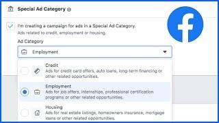 Otomotiv, Emlak Reklamları Oluşturma Facebook Özel Reklam Kategorisi, İş Teklifleri