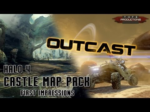 Halo 4 Castle Map Pack: Outcast Impressions