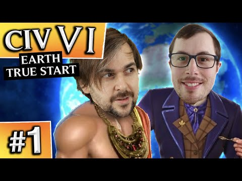Civilization VI: Earth True Start #1