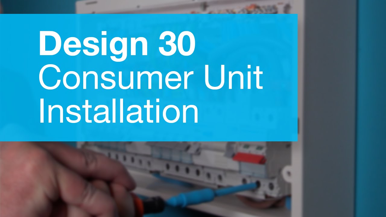 Consumer Unit Installation Walkthrough (Amendment 3) - YouTube