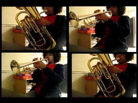 Tetris Theme A  for Brass Quartet