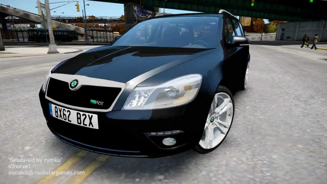 Gta V Car Hd Wallpaper Skoda Octavia Rs Combi 2010 Gta Iv Youtube