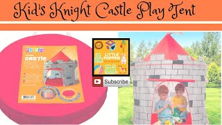 Little Poppins Surprise Gift   Kids Play Tent Knight Castle