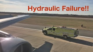 ONBOARD Emergency Landing - Hydraulic Failure American Airlines A320